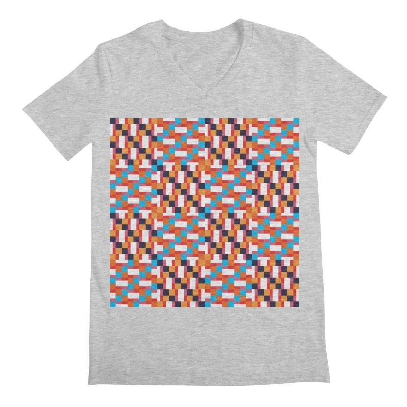 Geometric Design Series 4, Poster 9 Men's V-Neck by Madeleine Hettich Design & Illustration