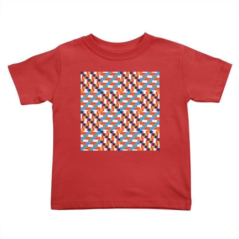 Geometric Design Series 4, Poster 9 Kids Toddler T-Shirt by Madeleine Hettich Design & Illustration