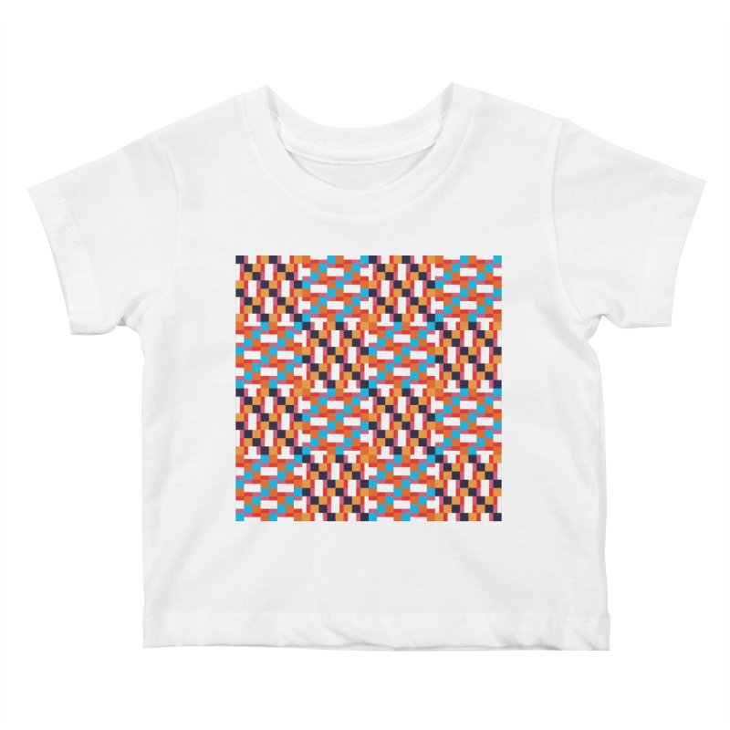 Geometric Design Series 4, Poster 9 Kids Baby T-Shirt by Madeleine Hettich Design & Illustration