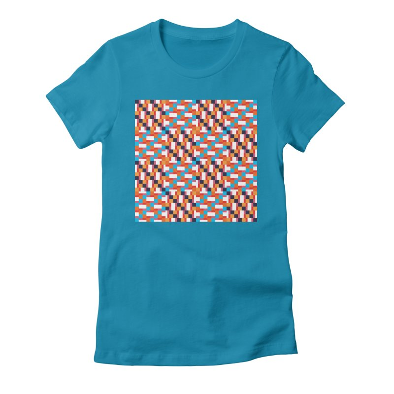 Geometric Design Series 4, Poster 9 Women's T-Shirt by Madeleine Hettich Design & Illustration
