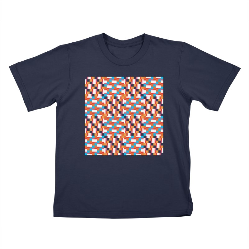Geometric Design Series 4, Poster 9 Kids T-Shirt by Madeleine Hettich Design & Illustration