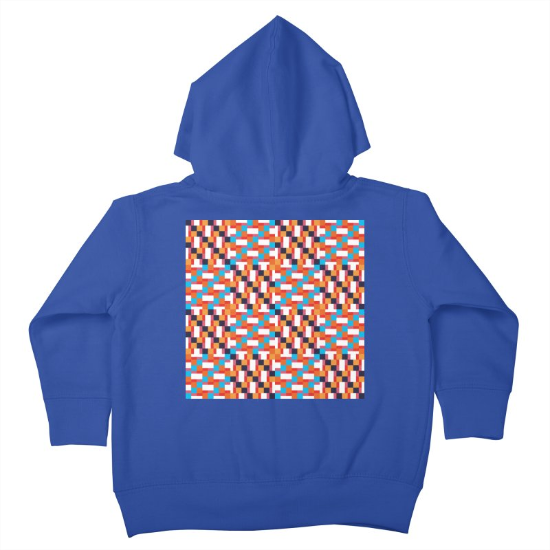 Geometric Design Series 4, Poster 9 Kids Toddler Zip-Up Hoody by Madeleine Hettich Design & Illustration