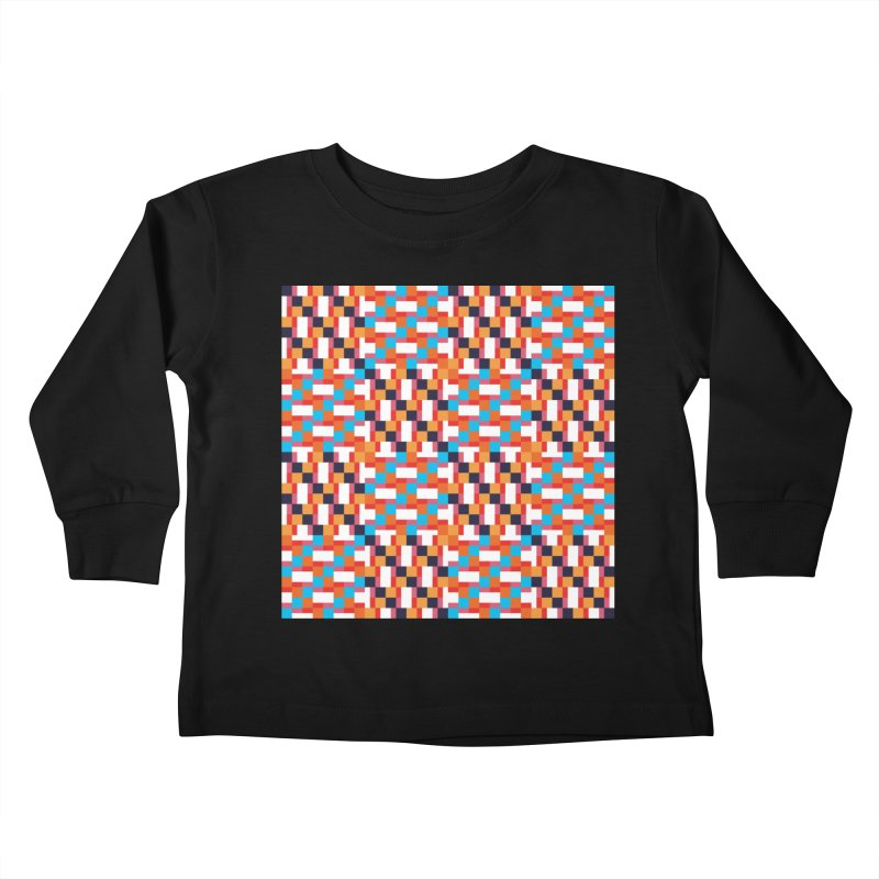 Geometric Design Series 4, Poster 9 Kids Toddler Longsleeve T-Shirt by Madeleine Hettich Design & Illustration