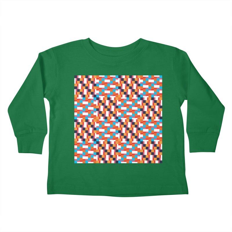 Geometric Design Series 4, Poster 9 Kids Toddler Longsleeve T-Shirt by Madeleine Hettich Design & Illustration