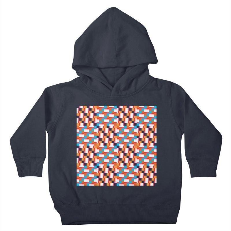 Geometric Design Series 4, Poster 9 Kids Toddler Pullover Hoody by Madeleine Hettich Design & Illustration