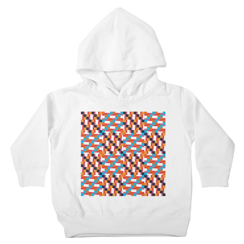 Geometric Design Series 4, Poster 9 Kids Toddler Pullover Hoody by Madeleine Hettich Design & Illustration