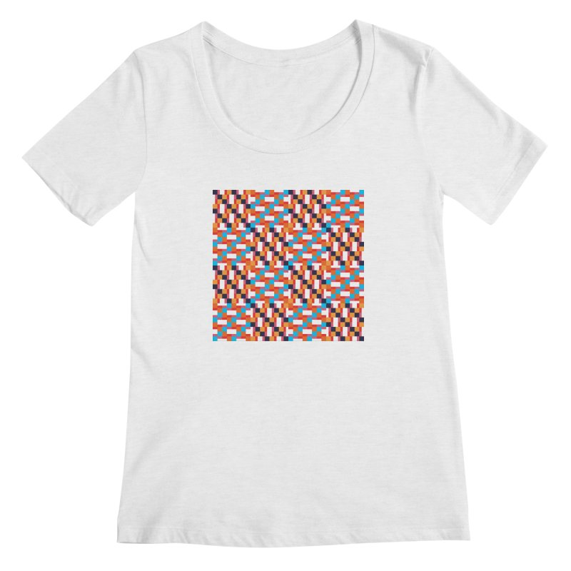 Geometric Design Series 4, Poster 9 Women's Regular Scoop Neck by Madeleine Hettich Design & Illustration