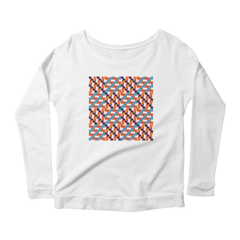 Geometric Design Series 4, Poster 9 Women's Scoop Neck Longsleeve T-Shirt by Madeleine Hettich Design & Illustration