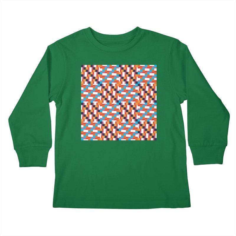 Geometric Design Series 4, Poster 9 Kids Longsleeve T-Shirt by Madeleine Hettich Design & Illustration