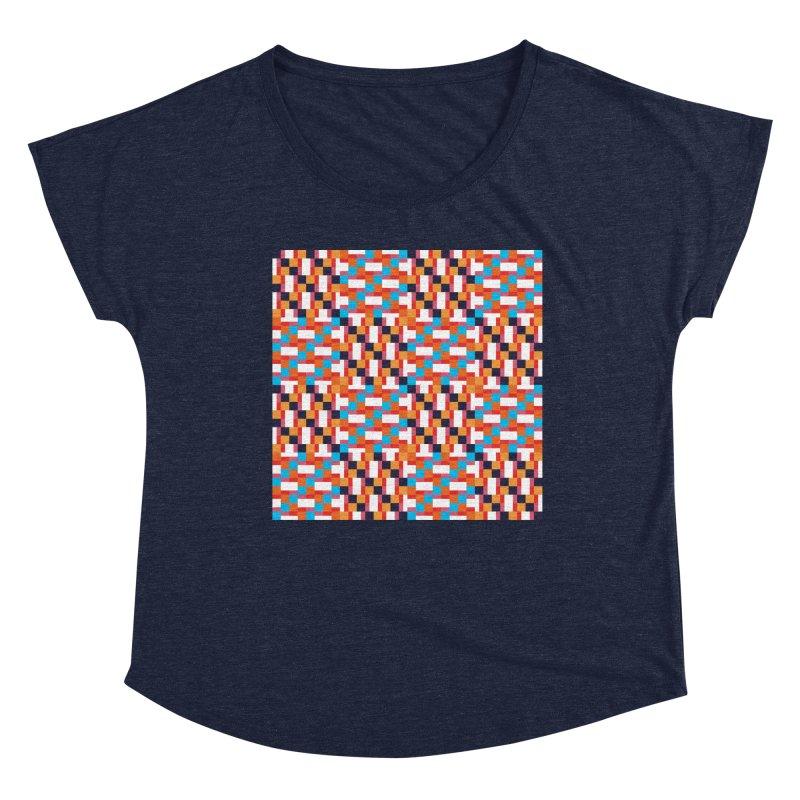Geometric Design Series 4, Poster 9 Women's Scoop Neck by Madeleine Hettich Design & Illustration