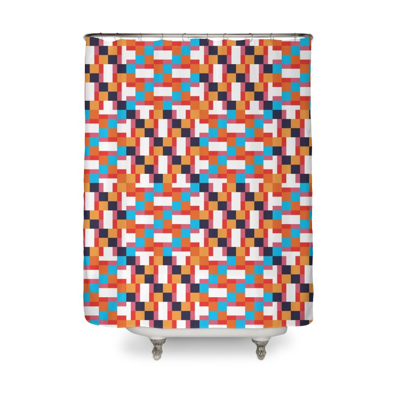 Geometric Design Series 4, Poster 9 Home Shower Curtain by Madeleine Hettich Design & Illustration