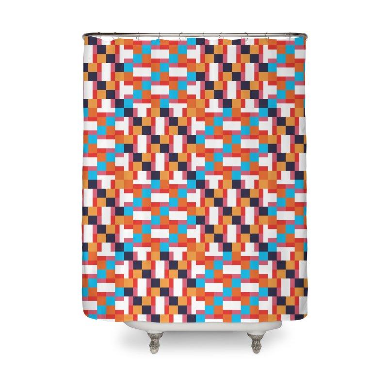 Geometric Design Series 4, Poster 9 Home Shower Curtain by Madeleine Hettich Design & Illustration