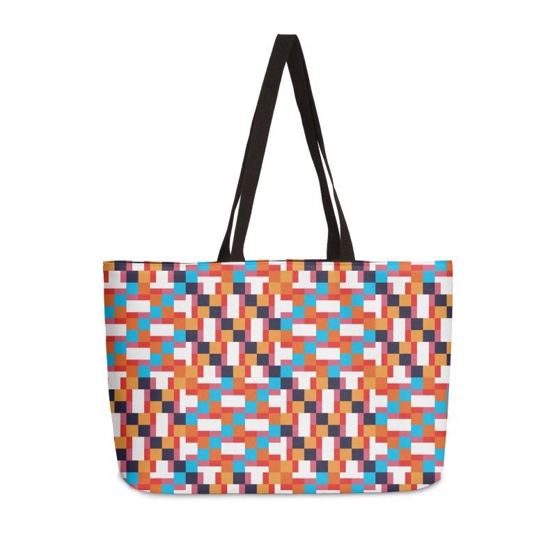 Geometric Design Series 4, Poster 9 Accessories Weekender Bag Bag by Madeleine Hettich Design & Illustration