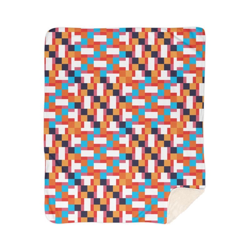 Geometric Design Series 4, Poster 9 Home Sherpa Blanket Blanket by Madeleine Hettich Design & Illustration