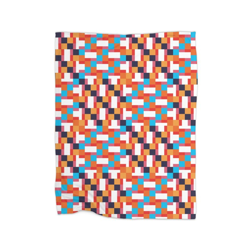 Geometric Design Series 4, Poster 9 Home Fleece Blanket Blanket by Madeleine Hettich Design & Illustration
