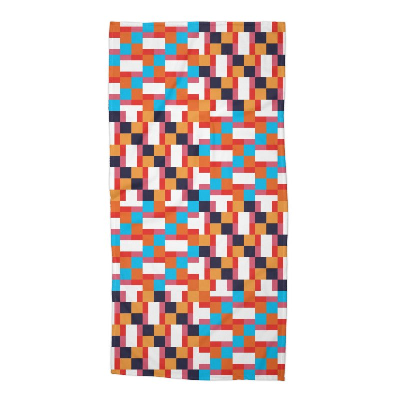 Geometric Design Series 4, Poster 9 Accessories Beach Towel by Madeleine Hettich Design & Illustration