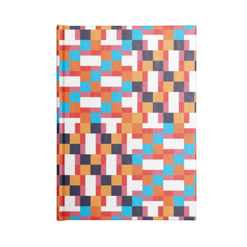 Geometric Design Series 4, Poster 9 Accessories Lined Journal Notebook by Madeleine Hettich Design & Illustration