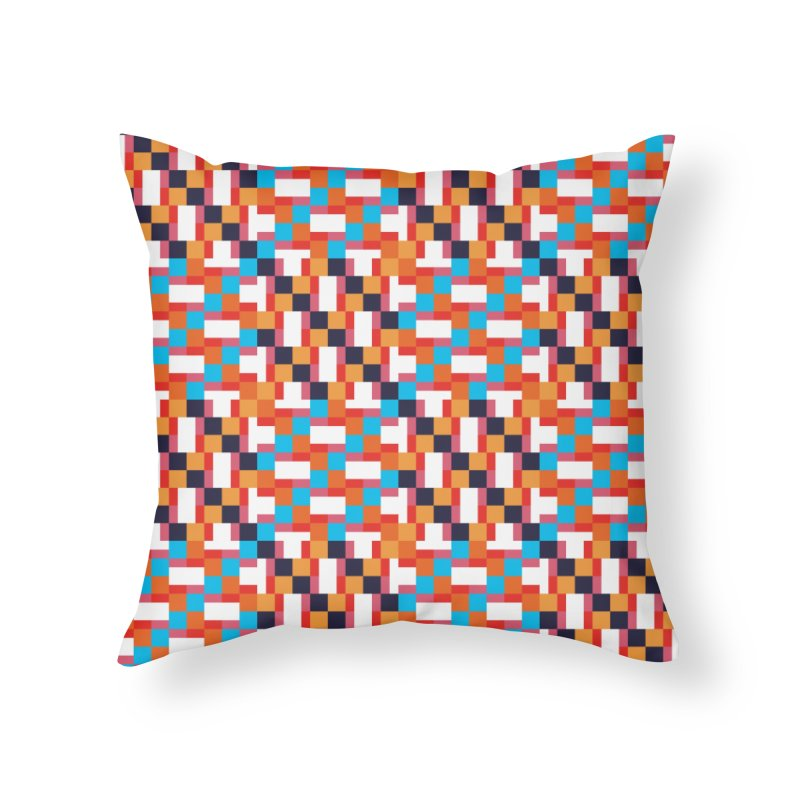Geometric Design Series 4, Poster 9 Home Throw Pillow by Madeleine Hettich Design & Illustration