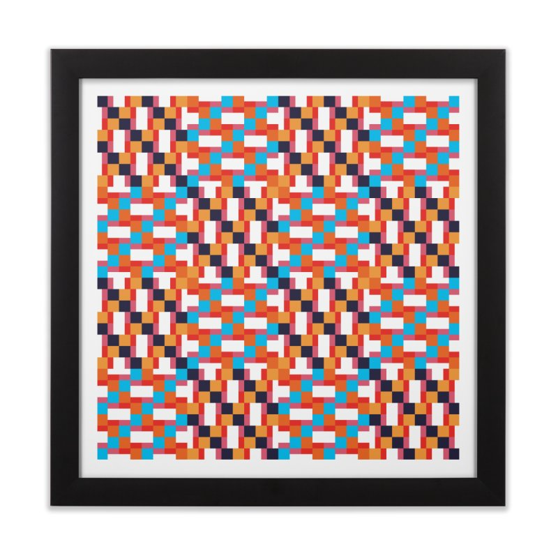 Geometric Design Series 4, Poster 9 Home Framed Fine Art Print by Madeleine Hettich Design & Illustration
