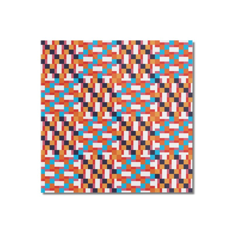 Geometric Design Series 4, Poster 9 Home Mounted Acrylic Print by Madeleine Hettich Design & Illustration