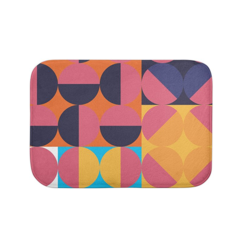 Geometric Design Series 4, Poster 8 Home Bath Mat by Madeleine Hettich Design & Illustration