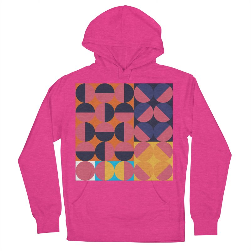 Geometric Design Series 4, Poster 8 Women's French Terry Pullover Hoody by Madeleine Hettich Design & Illustration