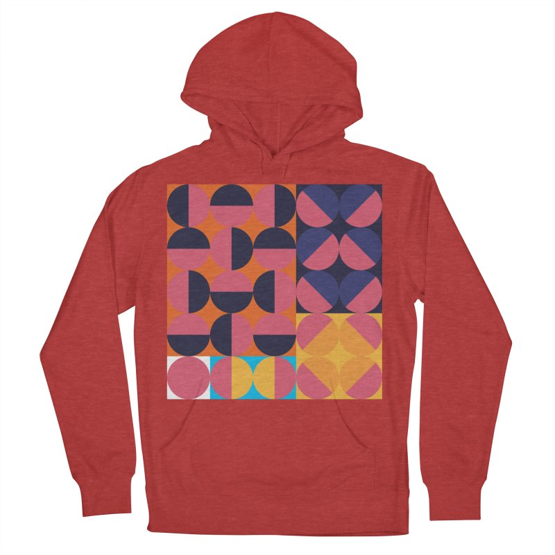 Geometric Design Series 4, Poster 8 Men's French Terry Pullover Hoody by Madeleine Hettich Design & Illustration