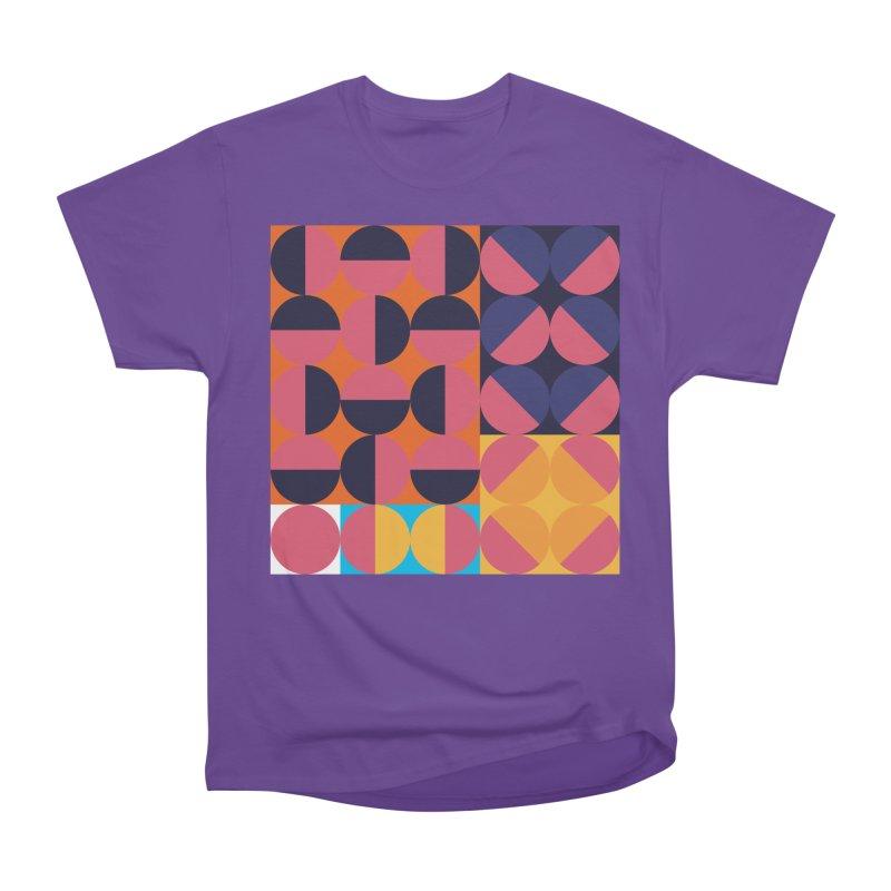 Geometric Design Series 4, Poster 8 Men's Heavyweight T-Shirt by Madeleine Hettich Design & Illustration