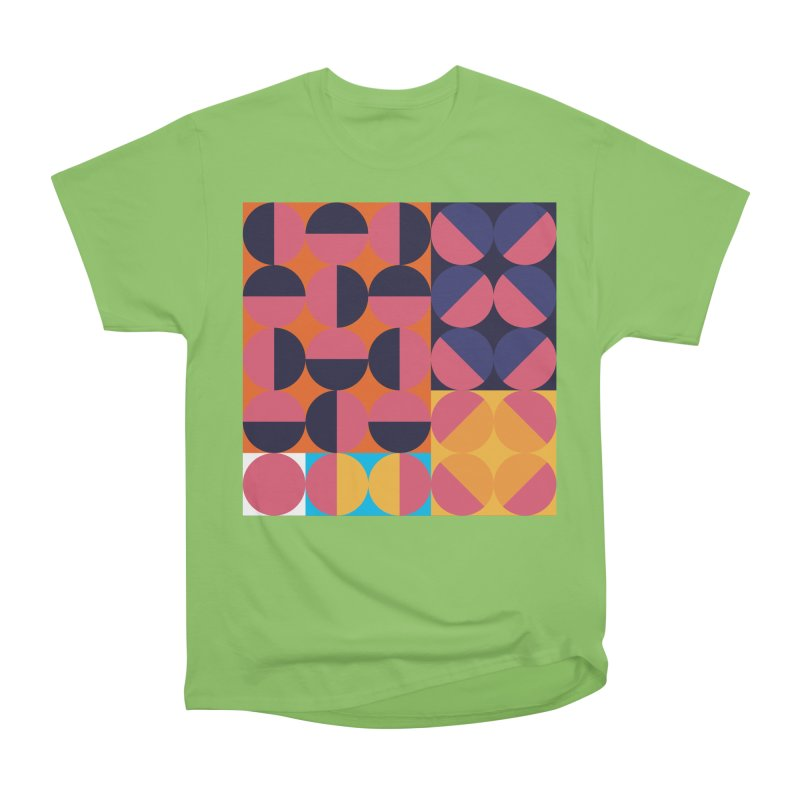 Geometric Design Series 4, Poster 8 Men's Heavyweight T-Shirt by Madeleine Hettich Design & Illustration