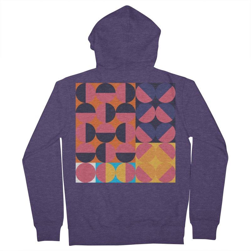 Geometric Design Series 4, Poster 8 Men's Zip-Up Hoody by Madeleine Hettich Design & Illustration