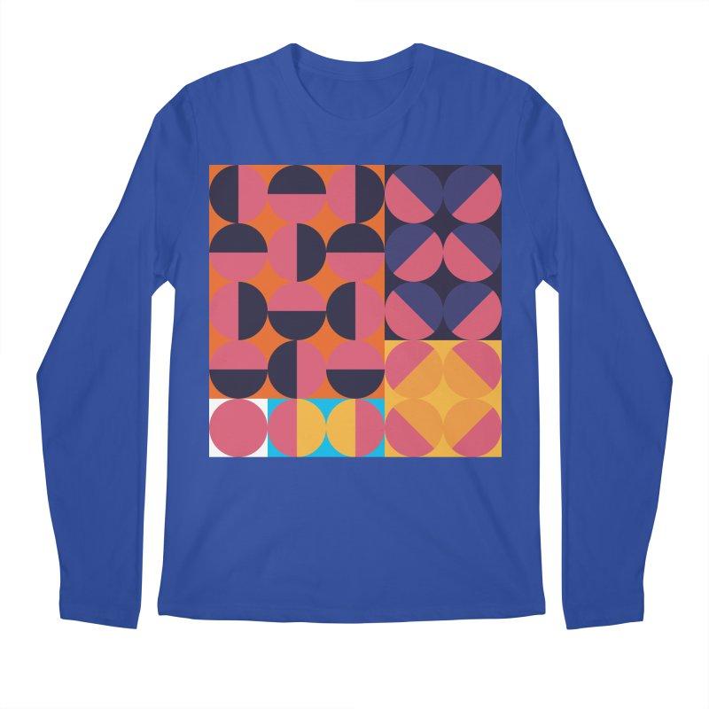 Geometric Design Series 4, Poster 8 Men's Regular Longsleeve T-Shirt by Madeleine Hettich Design & Illustration