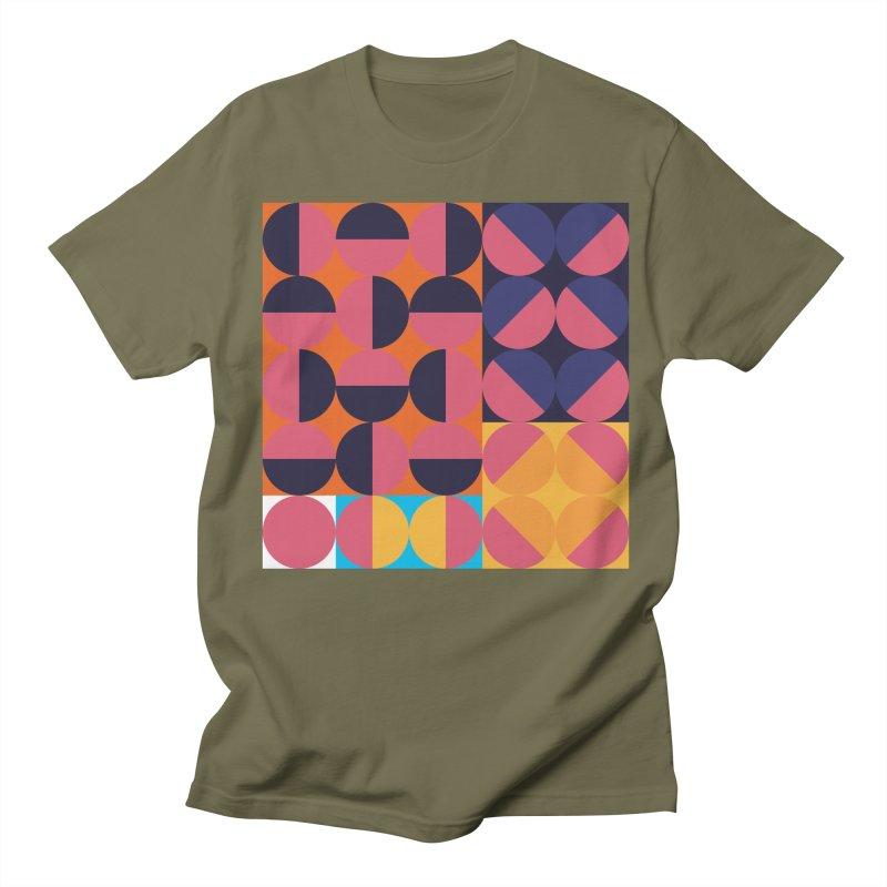 Geometric Design Series 4, Poster 8 Women's Regular Unisex T-Shirt by Madeleine Hettich Design & Illustration