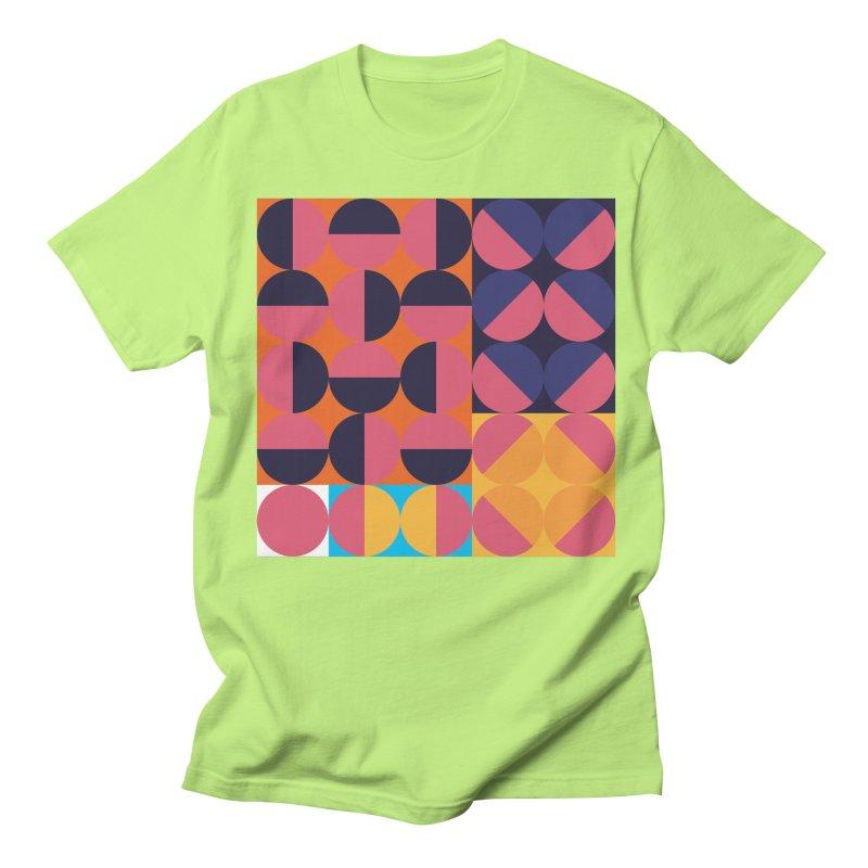 Geometric Design Series 4, Poster 8 Men's Regular T-Shirt by Madeleine Hettich Design & Illustration