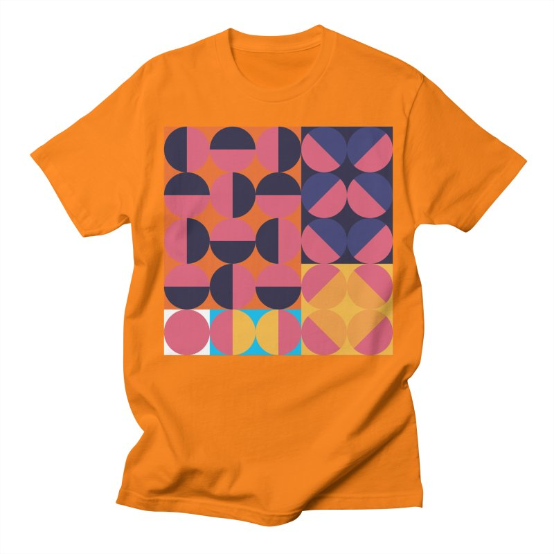 Geometric Design Series 4, Poster 8 Men's Regular T-Shirt by Madeleine Hettich Design & Illustration