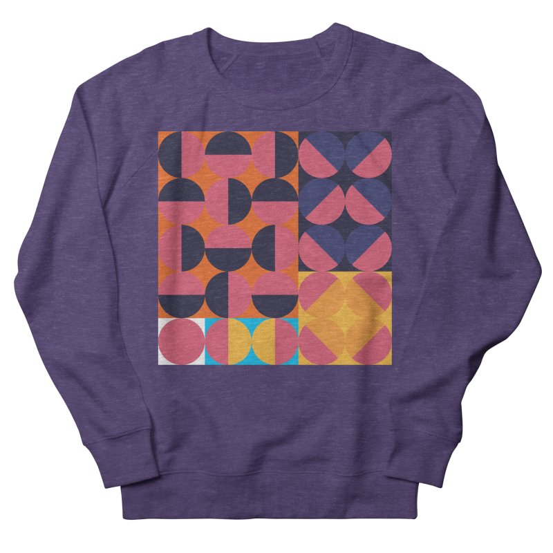 Geometric Design Series 4, Poster 8 Men's French Terry Sweatshirt by Madeleine Hettich Design & Illustration