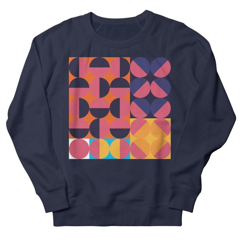 Geometric Design Series 4, Poster 8 Men's French Terry Sweatshirt by Madeleine Hettich Design & Illustration