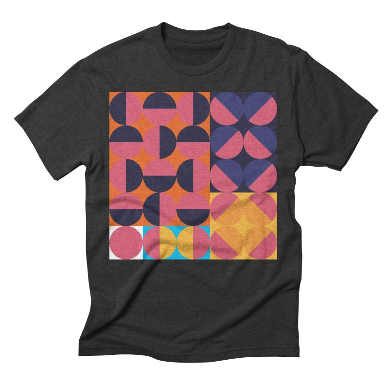 Geometric Design Series 4, Poster 8 Men's Triblend T-Shirt by Madeleine Hettich Design & Illustration