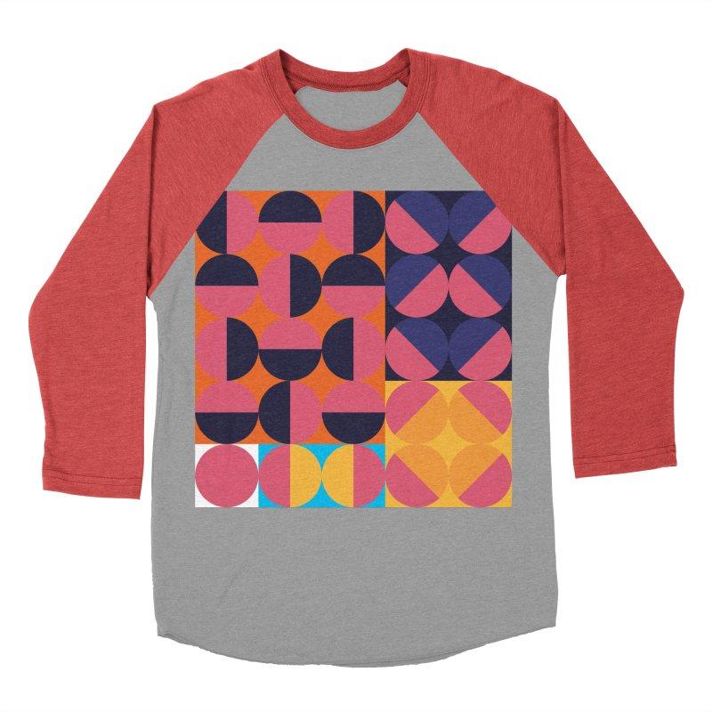 Geometric Design Series 4, Poster 8 Women's Baseball Triblend T-Shirt by Madeleine Hettich Design & Illustration