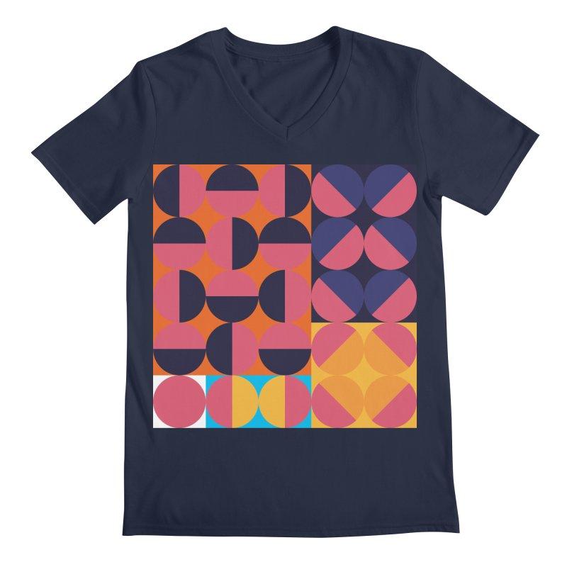 Geometric Design Series 4, Poster 8 Men's V-Neck by Madeleine Hettich Design & Illustration