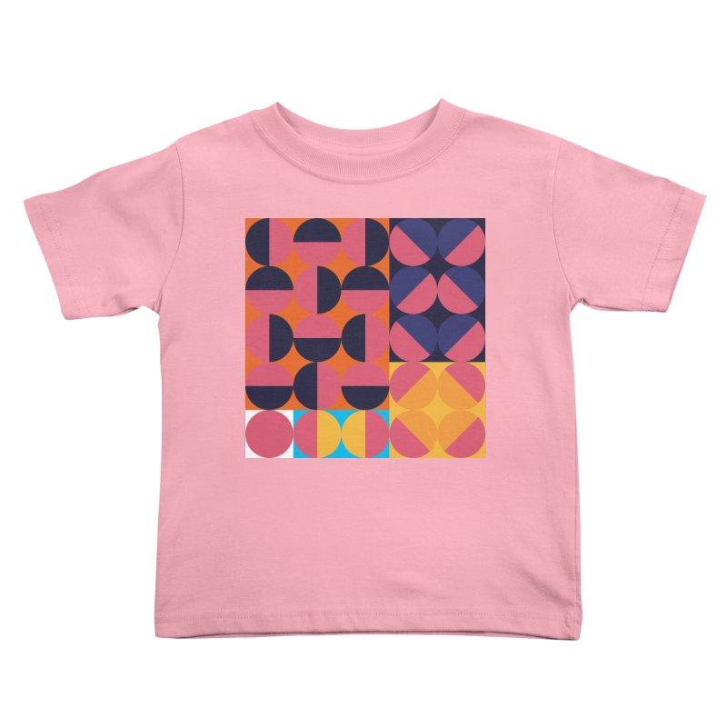 Geometric Design Series 4, Poster 8 Kids Toddler T-Shirt by Madeleine Hettich Design & Illustration