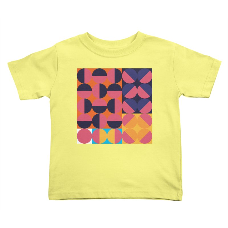 Geometric Design Series 4, Poster 8 Kids Toddler T-Shirt by Madeleine Hettich Design & Illustration