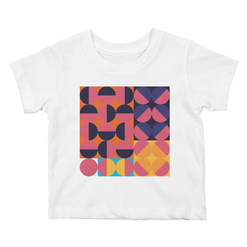 Geometric Design Series 4, Poster 8 Kids Baby T-Shirt by Madeleine Hettich Design & Illustration