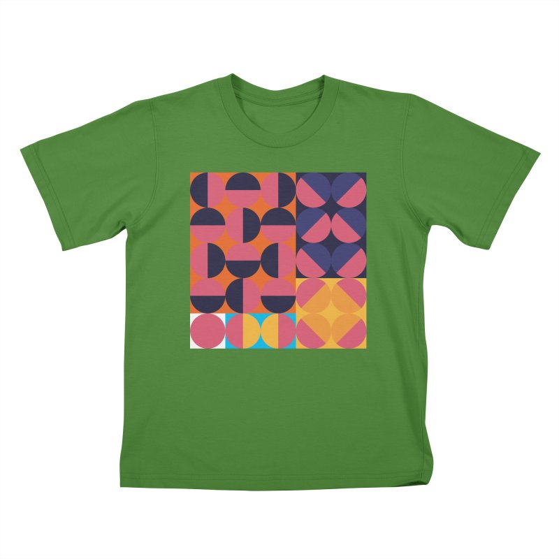 Geometric Design Series 4, Poster 8 Kids T-Shirt by Madeleine Hettich Design & Illustration