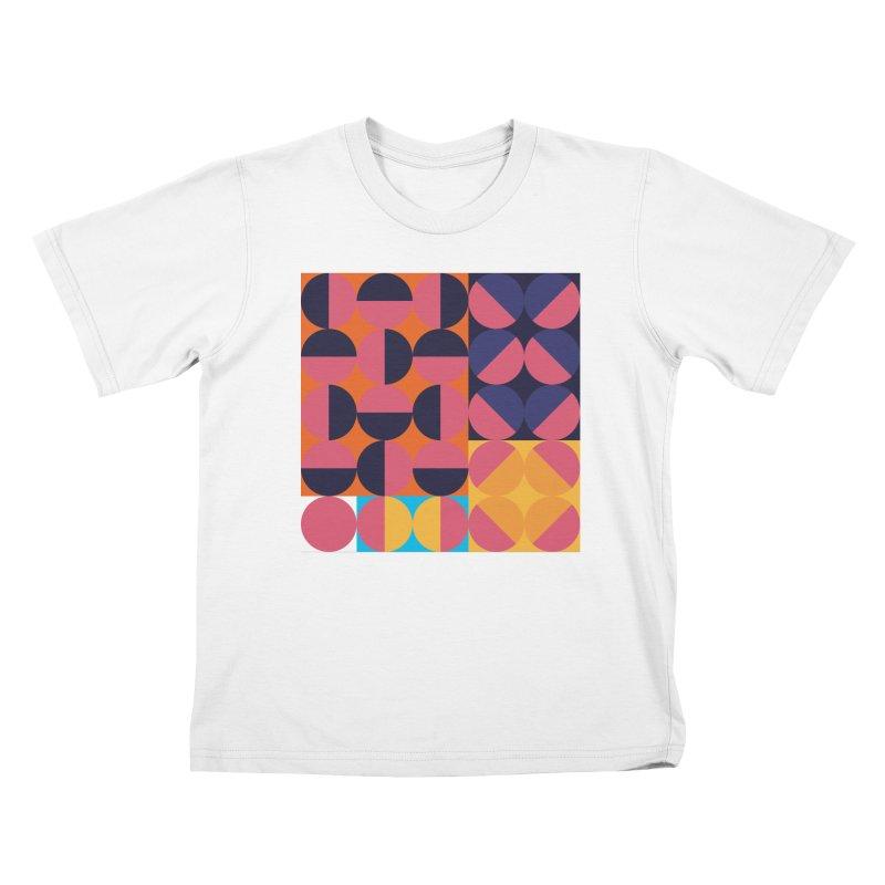 Geometric Design Series 4, Poster 8 Kids T-Shirt by Madeleine Hettich Design & Illustration