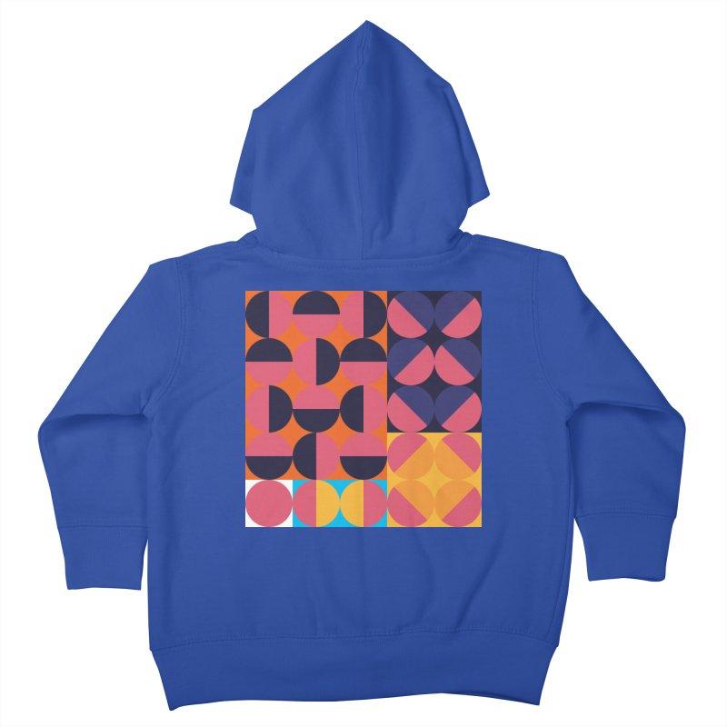 Geometric Design Series 4, Poster 8 Kids Toddler Zip-Up Hoody by Madeleine Hettich Design & Illustration