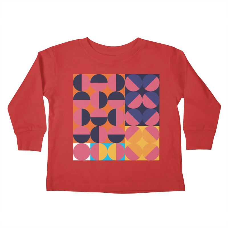 Geometric Design Series 4, Poster 8 Kids Toddler Longsleeve T-Shirt by Madeleine Hettich Design & Illustration