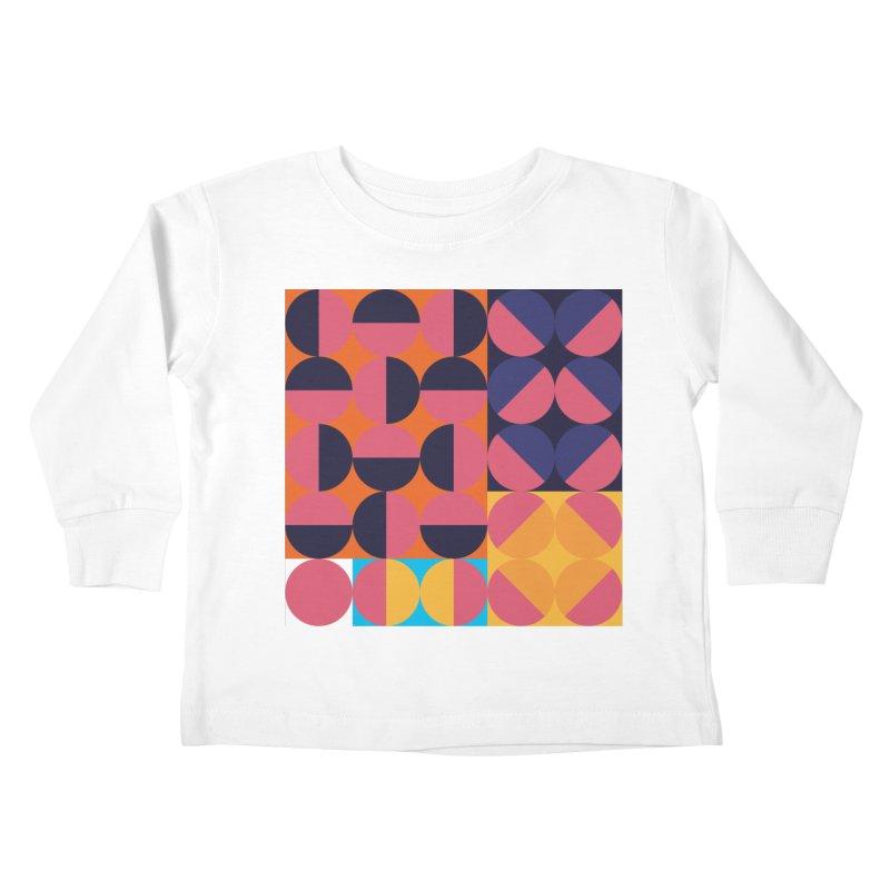 Geometric Design Series 4, Poster 8 Kids Toddler Longsleeve T-Shirt by Madeleine Hettich Design & Illustration