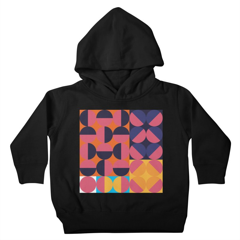 Geometric Design Series 4, Poster 8 Kids Toddler Pullover Hoody by Madeleine Hettich Design & Illustration