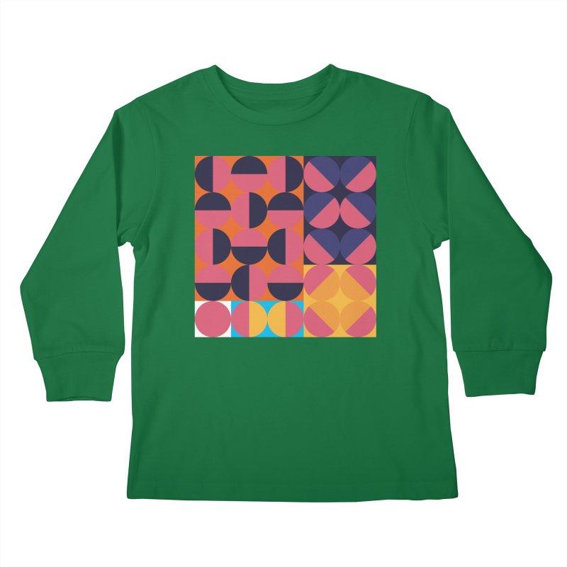 Geometric Design Series 4, Poster 8 Kids Longsleeve T-Shirt by Madeleine Hettich Design & Illustration