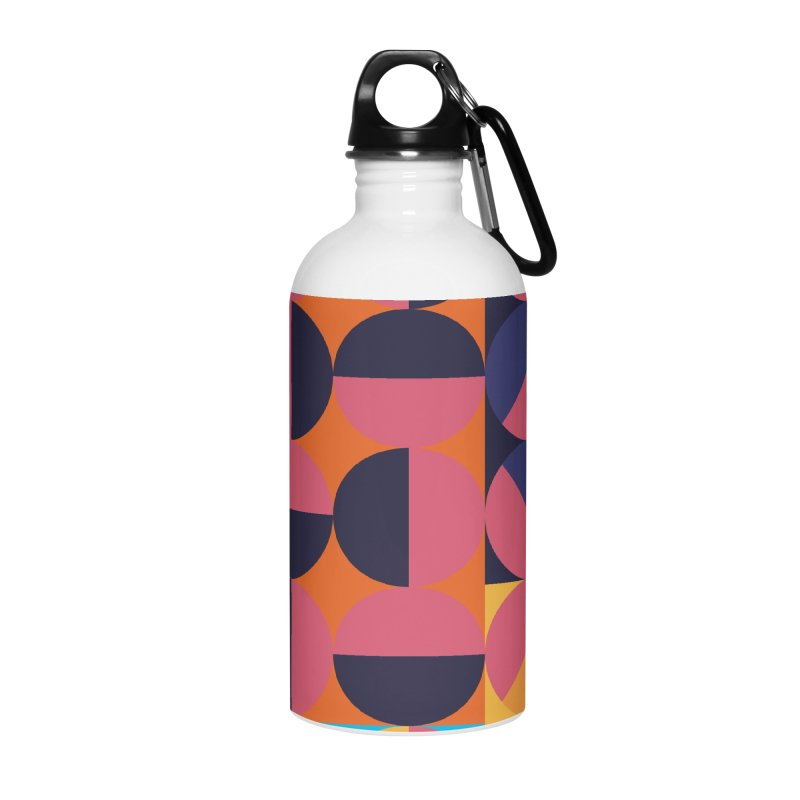 Geometric Design Series 4, Poster 8 Accessories Water Bottle by Madeleine Hettich Design & Illustration